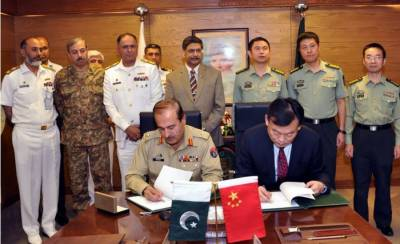 China to equip Pakistan Navy with two state of the art Warships