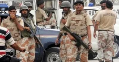 Pakistan Rangers arrested 8 criminals in Karachi