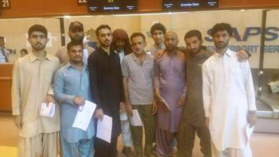 Pakistan releases 10 Iranian sailors