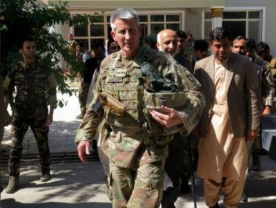 Taliban 'talking and fighting,' says U.S. commander in Afghanistan