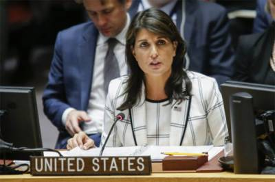 US to unquestionably veto UN resolution over Palestinians in Gaza: Nikki Haley