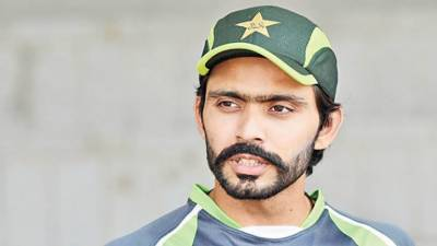Did Pakistani batsman Fawad Alam break the dressing room window?
