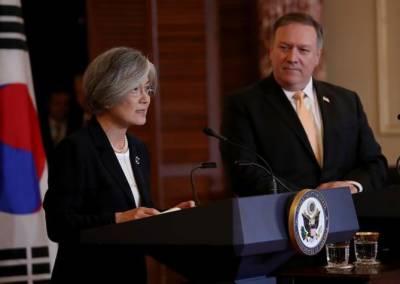 S Korea, US top diplomats hold phone talks over DPRK-US summit