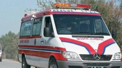 Three killed in road accident at Bahawalpur road