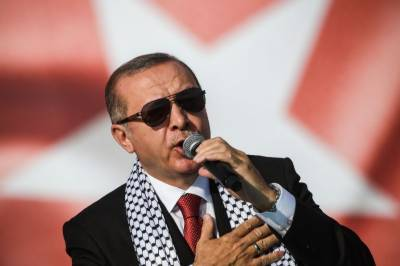 An unprecedented campaign launched against Turkey's Tayyip Erdogan