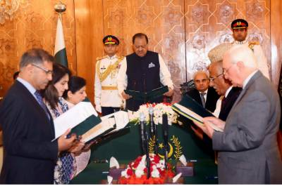 Six-member Federal Caretaker Cabinet sworn-in