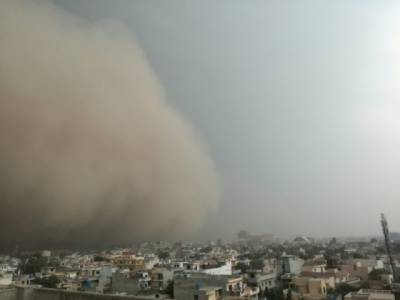 Two children killed as fierce dust storm hits Lahore