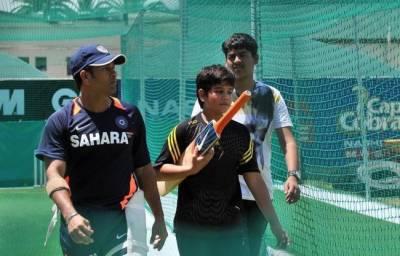 Arjun Tendulkar: Sachin Tendulkar's son named in Indian U19 squad