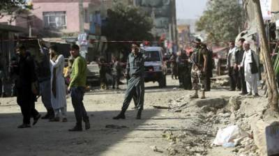 Blast kills 2 Afghanistan