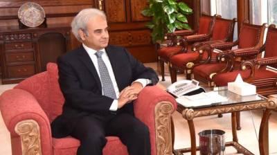 Caretaker PM, Naval Chief discuss matters pertaining to Pakistan Navy