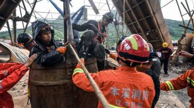 China: 23 rescued after blast in iron mine