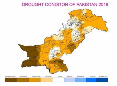 Drought like conditions emerged in most parts of Pakistan: Report