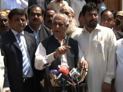 GDA awards ticket to Ghous Ali Shah for Khairpur seats