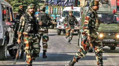 At least 13 Indian soldiers killed and wounded in predawn attacks in Occupied Kashmir