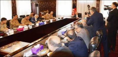 COAS General Bajwa holds key discussion with Afghan President Ghani in Kabul