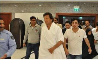 Imran Khan reveals why he arrived in Madina Munawara barefoot?