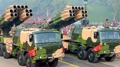 Indian Army successfully test fires Smerch guided missile cum rocket
