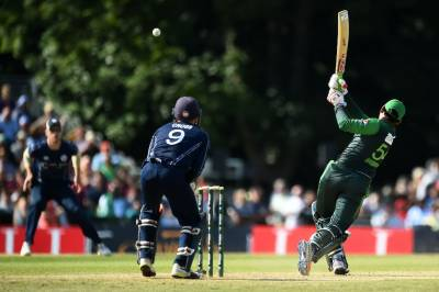 Pakistan crush Scotland in the first T20 international