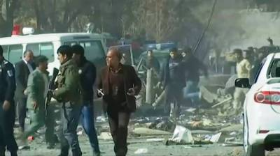 Suicide attack in Kabul kills 13