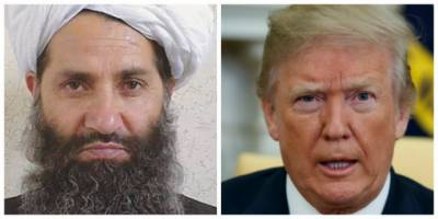 Afghan Taliban Chief makes new offer to US President Donald Trump