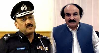 IG Sindh meets Provincial Election Commissioner