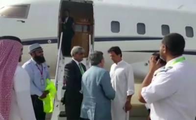 Imran Khan leaves for Pakistan after performing Umrah