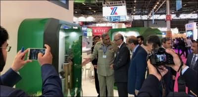 Pakistan defence products exhibited at World's largest defence exhibition