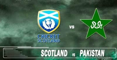 Second T20 b/w Pakistan, Scotland today