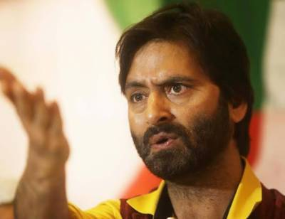 Yasin Malik demands release of Kashmmiri detainees before Eid