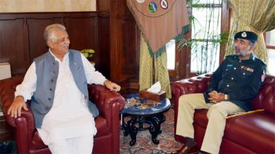 Jhagra lauds role of Salahuddin Khan for improving police services