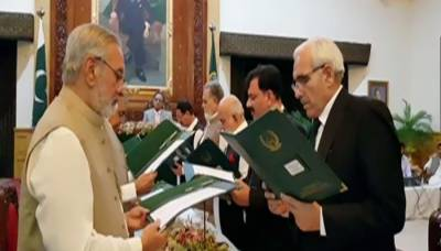KP interim government 10 member cabinet takes oath