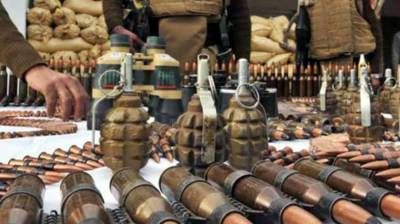 Security forces seize huge cache of arms in Bajaur