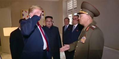 Donald Trump under fire for saluting North Korean General