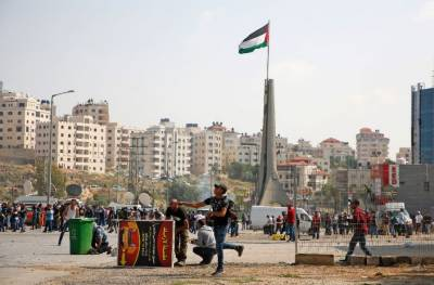 Palestinian forces break up Ramallah protest over Gaza