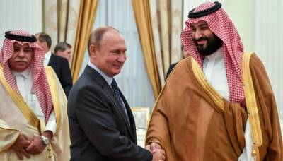 Saudi Arabia inches closer to Russia