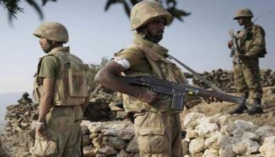 Three soldiers martyred, five terrorists killed in a cross border attack at Durand Line