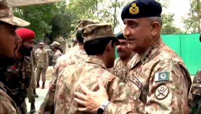 COAS spends Eid with troops on LoC, lauds their sacrifices in line of duty