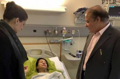 Kulsoom Nawaz health deteriorates further in London Hospital