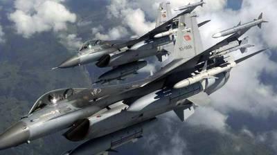 Turkish military jets strike inside Iraq