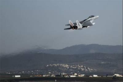 Israeli Military jets strike targets in Gaza