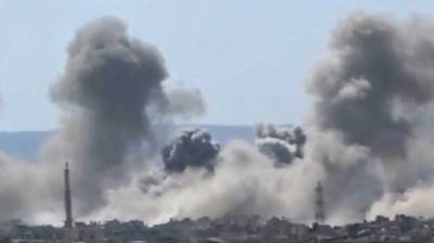 US-led coalition launches airstrikes in Syria's Hiry town