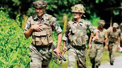 Four Indian soldiers killed in an ambush
