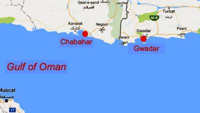 Gwadar - Chabahar Ports to be connected: Report