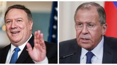 Lavrov, Pompeo discuss Syria, issues of Korean peninsula