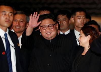 North Korean leader Kim Jong Un arrives in Beijing