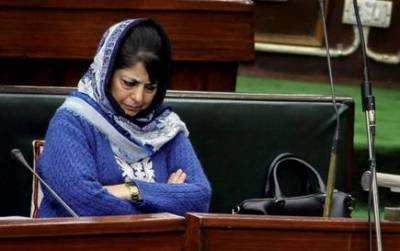 Occupied Kashmir CM Mehbooba Mufti accepts Indian Military strategy defeat in state