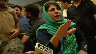 Occupied Kashmir CM Mehbooba Mufti resigns