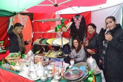 Pakistani products displayed at UN international Bazaar