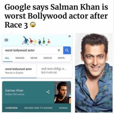 Salman Khan gets the worst blow from Google