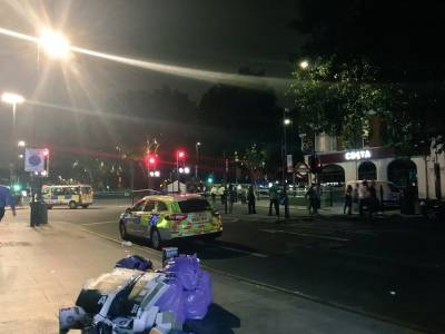Blast in North London: British Media